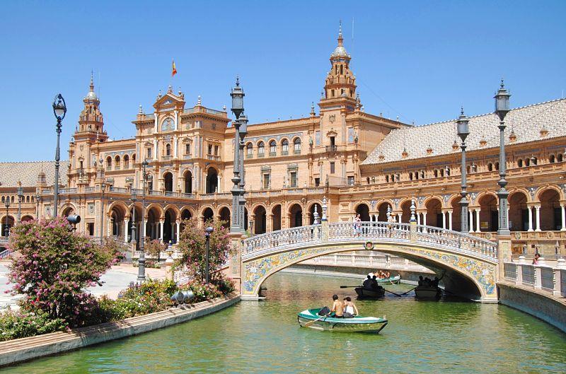 Visiter Séville en 2 jours la Plaza de España