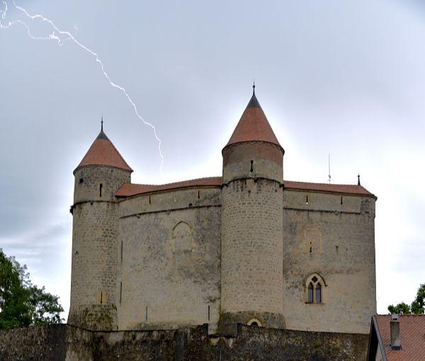 Visiter le château de Grandson