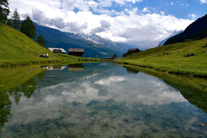 Rando au Valais autour d'Evolène dans le Val d'Hérens