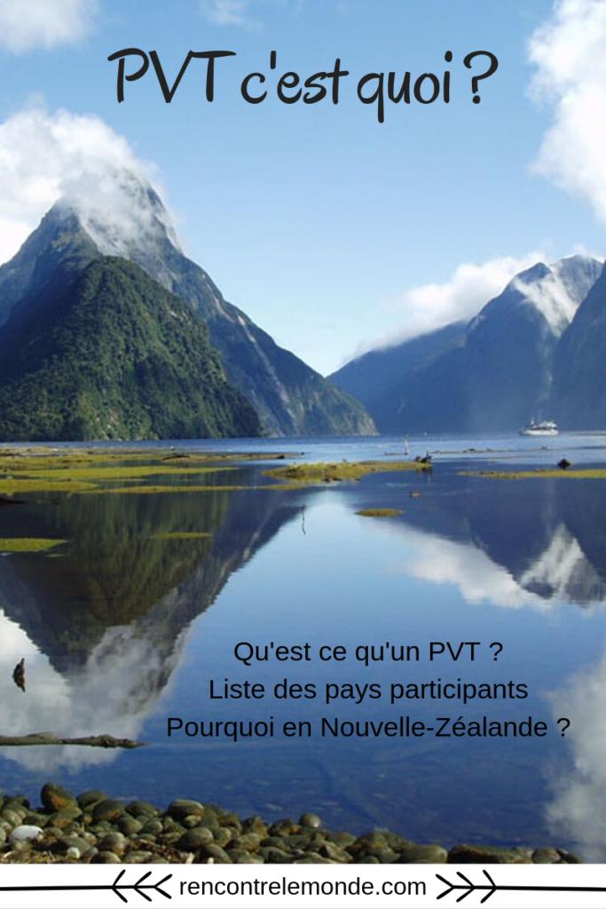 Informations pour un PVT en Nouvelle-Zélande