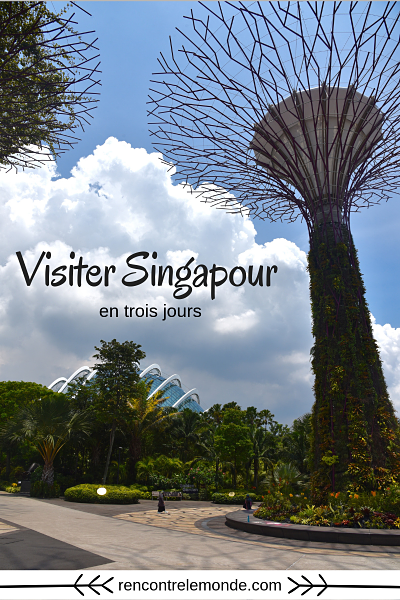 Visiter Singapour en 3 jours rencontre le monde