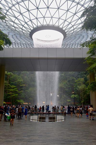 Visiter The Jewel à Singapour