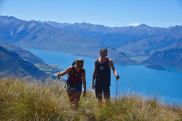 Randonner à Wanaka au Isthmus Peak