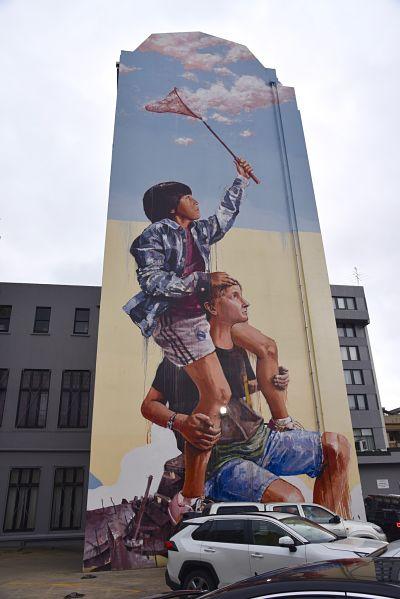 Attrapeur de rêve et street art