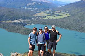 Randonnée aux Nelson Lakes - Carnet de bord - Nouvelle-Zélande
