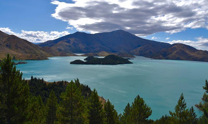 Road-trip en Nouvelle-Zélande : le lac Benmore