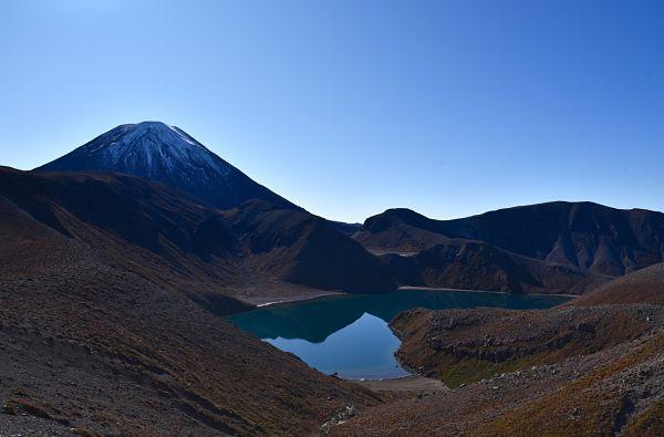 Randonnée au lac Tama dans le parc national du Tongariro