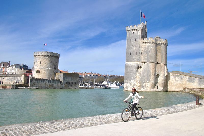 vacances à vélo à La Rochelle
