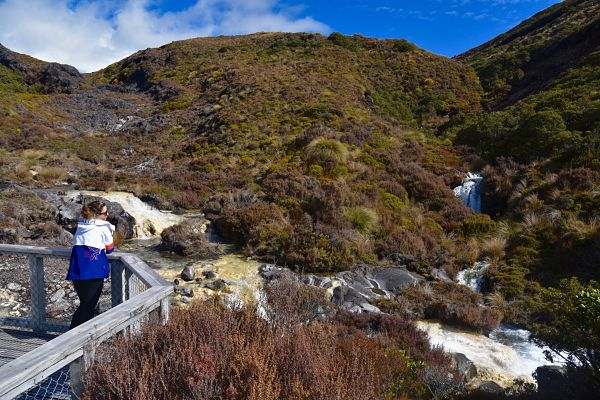 Randonnées dans le parc national du Tongariro depuis Whakapapa