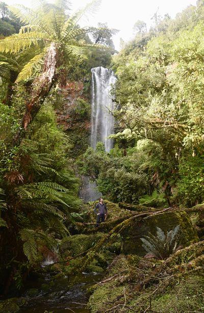 Visiter la région de Ruapehu et ses cascades
