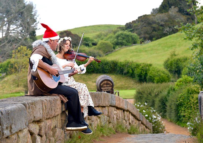 Noël à Hobbiton en Nouvelle-Zélande