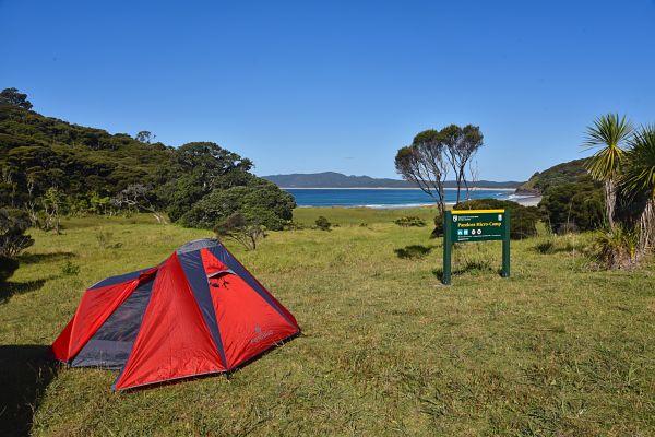 camping et randonnée au cap reinga