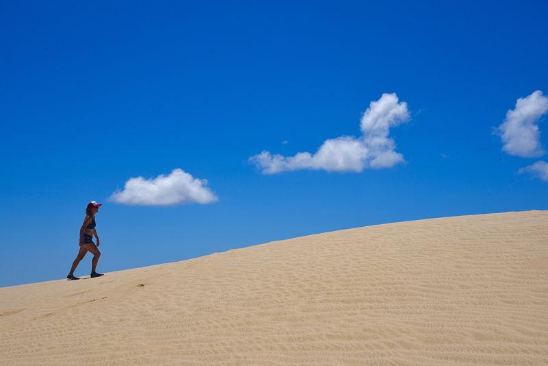 Les dunes géantes de sables de Te Paki