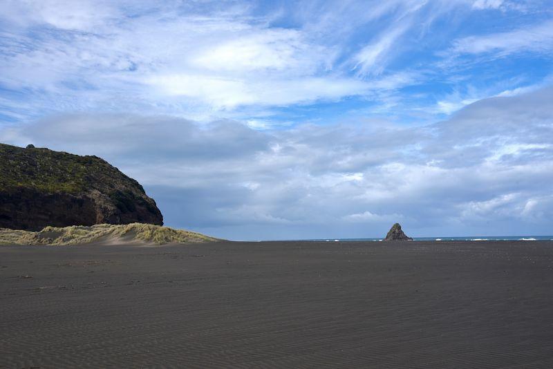 La magnifique plage sauvage de Karekare du film la leçon de Piano