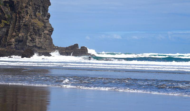 Piha un des spots de surf incontournables de la Nouvelle-Zélande