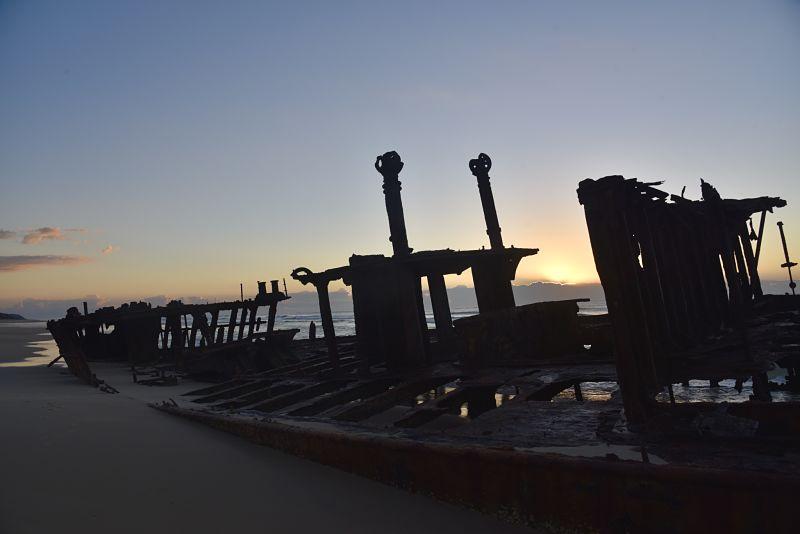 Visiter Fraser Island et l'épave du Maheno