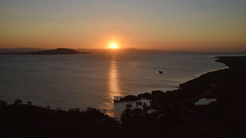 Coucher de soleil à Magnetic Island