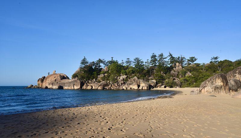 Balding Bay la plage nudiste de Magnetic Island